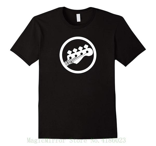 Bass Guitar T Shirt - Baixo Pegs Pegs - T-shirt de Algodão Dos Homens T-shirt Estilo Verão Homens T Shirt