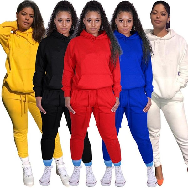 best selling Brand Designer women 2 piece set jogger tracksuit embroidery hoodie leggings outfits sweatshirt tights sportswear bodycon pant sweatsuit dhl