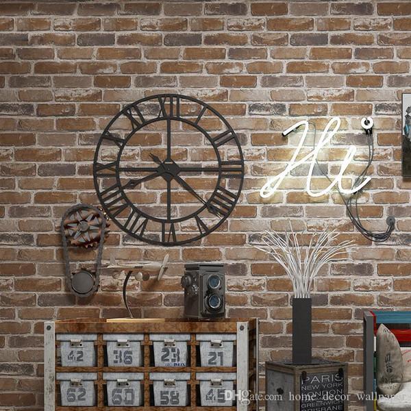 Brick Wallpaper 3d Suppliers High Quality 3d Brick Wallpaper Stone Wall Paper Faux Brick Wallpaper 3d Living Room Sofa Wall Paper Full Hd Wallpaper
