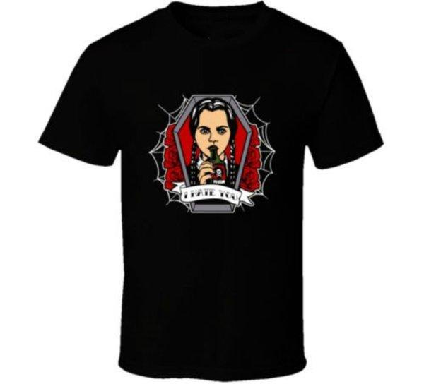 Camiseta de la familia Adams Funny Merlina Tee Cool Casual Pride Tee