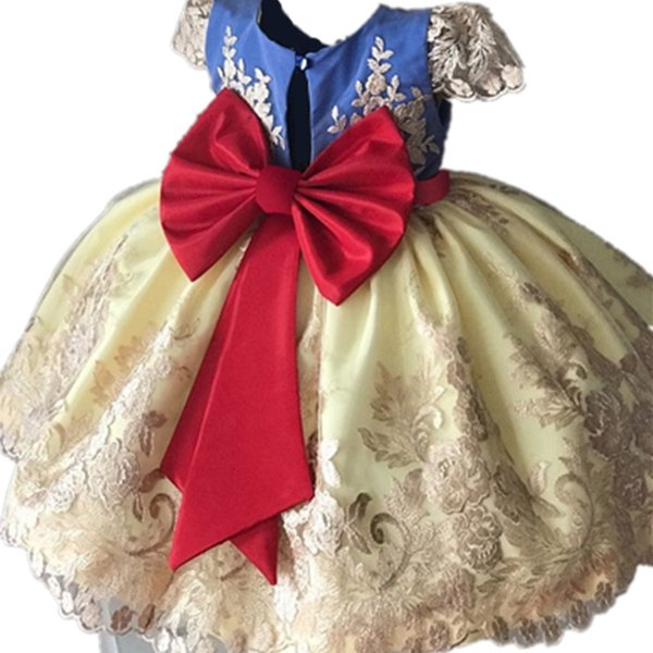 Baby Girl Crianças Prom Vestido Designs vestido de festa para a princesa Costume menina infantil For Kids Formal Cerimônia Vestidos menina roupas T191007