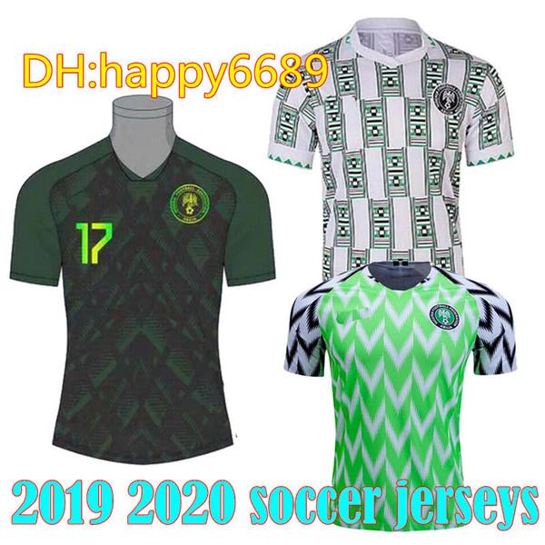 Nigeria Kit World Cup 2020.2019 Retro Edition 2019 Nigeria Soccer Jersey 9 Starboy Soccer Shirt Okechukwu Dayo Ojo Osas Okoro Classic Short Sleeved Football Uniforms From