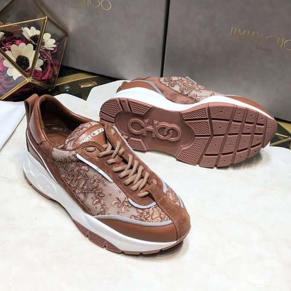 Summer new high quality ladies casual sports shoes fashion casual shoes tennis shoes party tie with original packaging qe