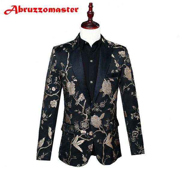 Animal Print Suit Jacket Red Print Suit Blazer Shawl Lapel Man Jacket Custom Made Man Top Tailor Blazer (Jacket+p
