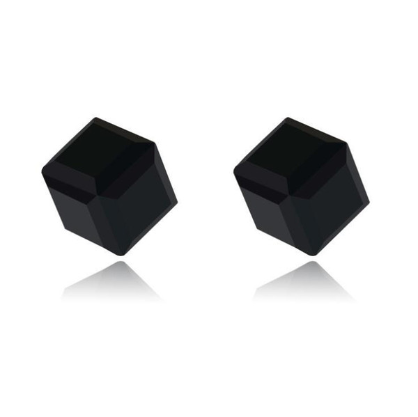 Colorful diamond Crystal Magnetic Earrings Water Cube Health Magnet Colorful Crystal non-pierced Earrings for Women Jewelry 9 Colors