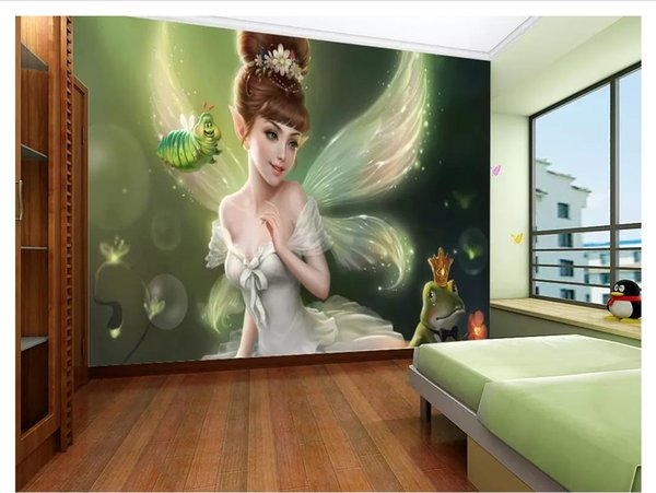 3D wallpaper custom photo silk mural wall paper Hand-painted beauty bedroom living room TV background mural wall sticker Papel de parede