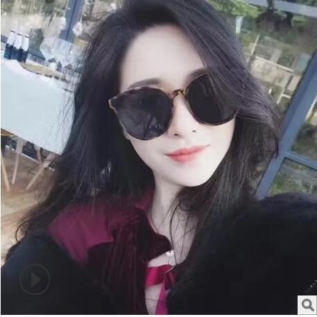 designer sunglasses luxury sun glasses for women man Blue sea legend sunglasses with the Korean version of fashion V brand sunglasses