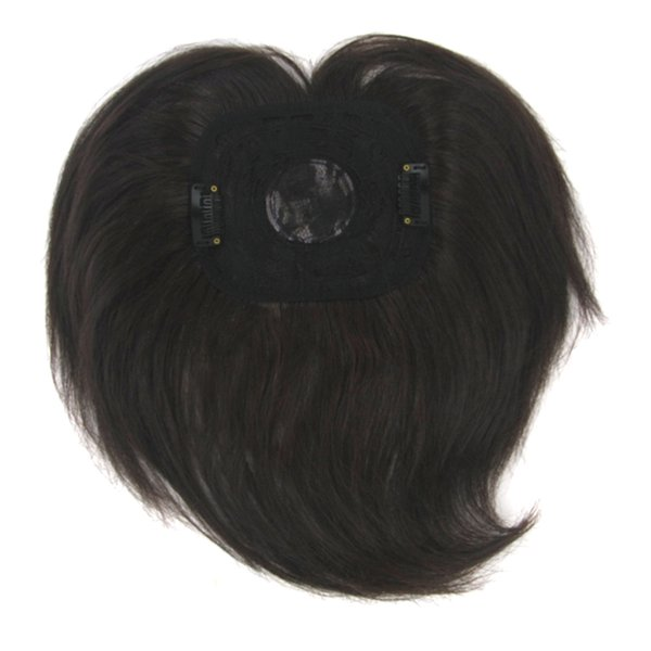 4 Colors High Temperature Fiber Synthetic Hair Toupees Hairpieces Straight Top Hair Closures For Men And Women