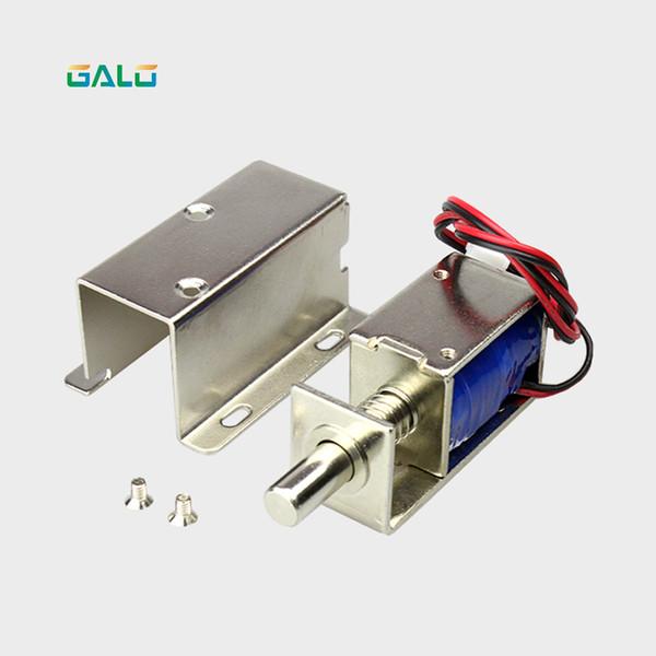 top popular electromagnetic 12V or 24V DC mini electric metal small bolt lock magnetic for drawer locker cabinet 2021