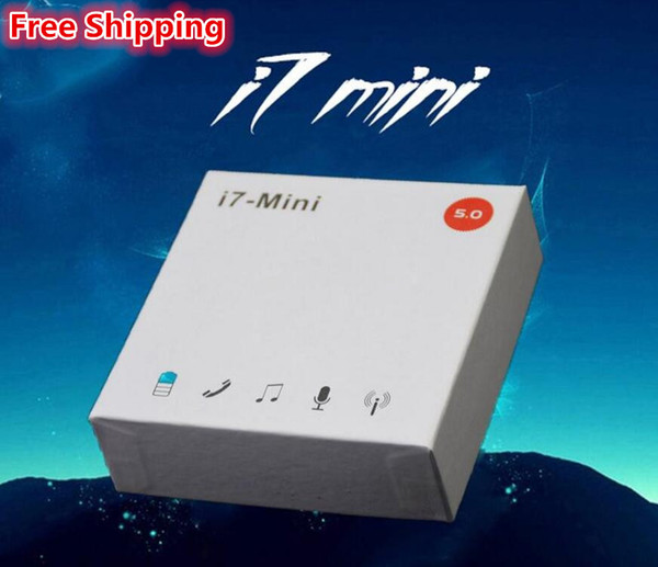 top popular Free Shipping i7 Mini i7s Wireless Bluetooth Earphone Earbuds Bluetooth 5.0 Headsets with Charging Box For i7s i9s i12 2020