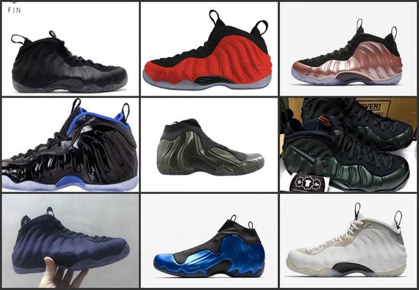 Cheap Penny Hardaway Basketball Shoes Sneaker Mens Man Habanero Red Denim Legion Green Royal Sequoia Shoe