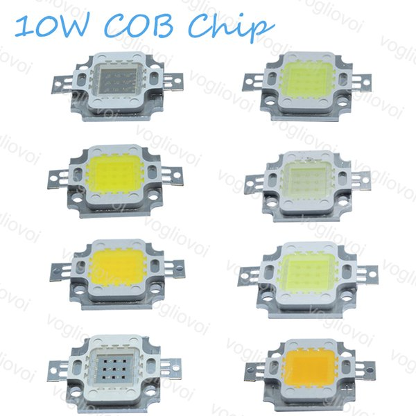 LED Perle High Power Cob RGB 10W Weiß Warmweiß RGB für Hochregallampe Flutlicht Straßenlampe Grow Lights Leads EPACKET