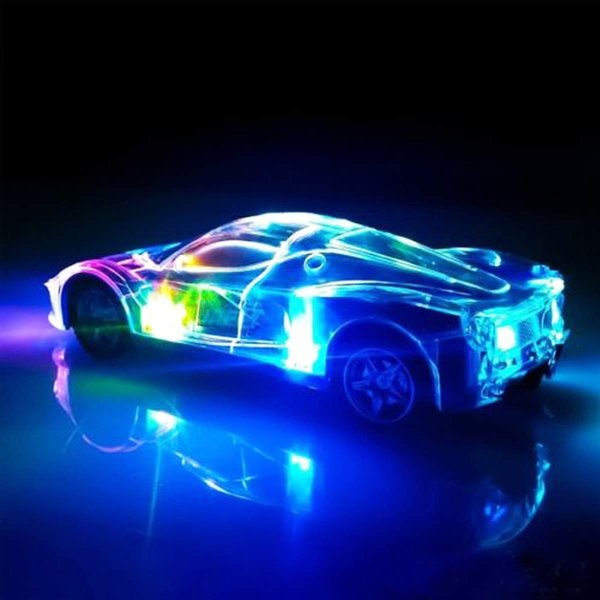 1:24 Car Radio Remote Control Car 27Mhz with 3D Flashing Lights RC Light Up Racing Car Driving Toy Control for Kids Gift