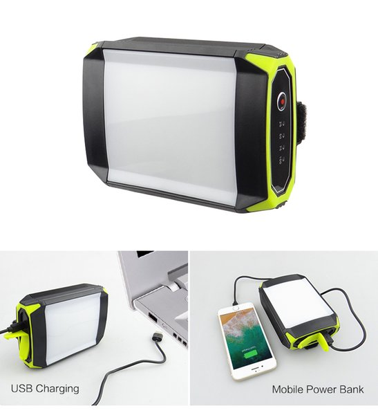Linterna portátil recargable al aire libre de 15W Lámpara linterna 30 LEDs 350LM Flasher Linterna con interfaz USB BRIGHTINWD