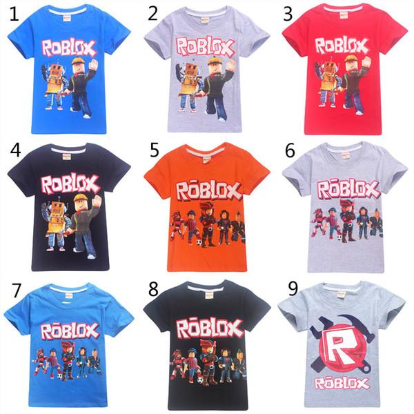15 Estilo Meninos Meninas Roblox Stardust T-shirts Éticas 2019 Novas Crianças Dos Desenhos Animados Jogo de algodão de manga Curta t camisa Do Bebê roupa dos miúdos B