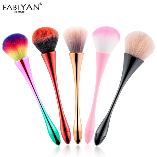 Soft Powder Cleaning Glitter UV Gel Nail Art Makeup Blush Concealer Brush Nail Art Dust Cleaner Remover Manicure Tools Big Sizes