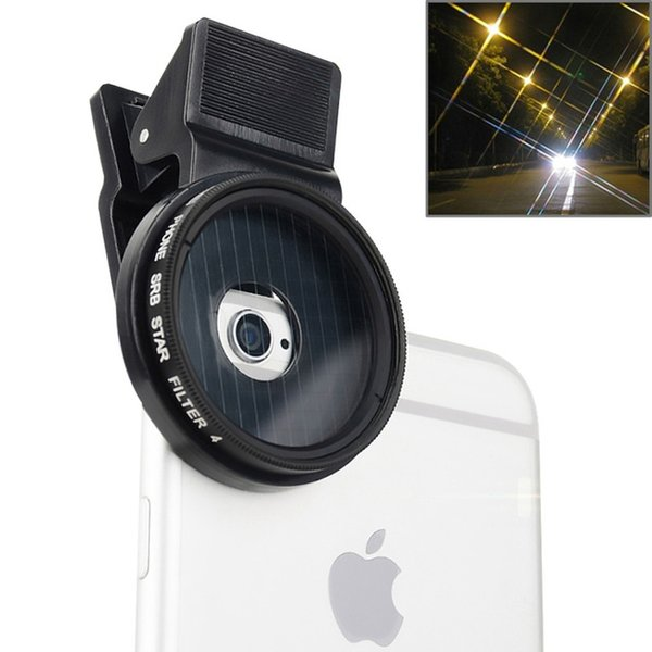 Professional 37mm Star Lens Filter Kit For iPhone Huawei Samsung HTC Sony Cell Phone Camera Lens Filter