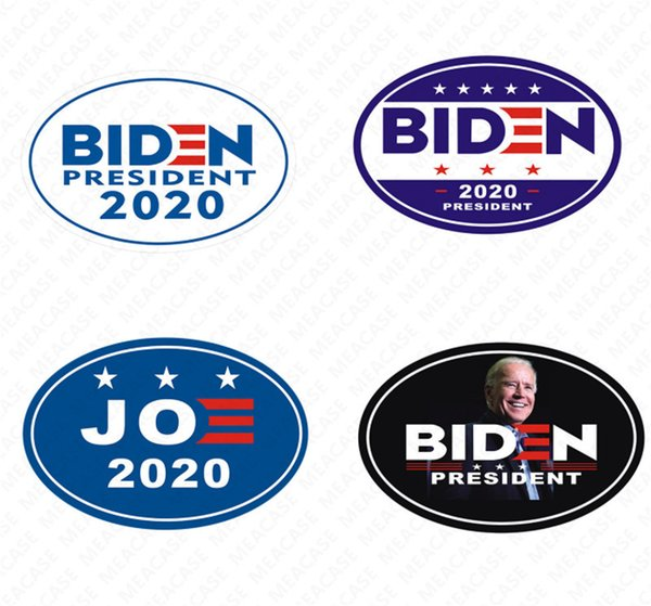 best selling 2020 Joe Biden The Us Election Letters Printed Car MAGNETIC Sticker Fridge Magnet Suitable For Metals Waterproof Pasters Ornaments New D7207