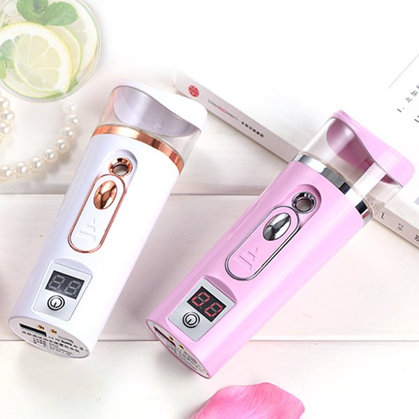 USB Portable Sprayer Beauty Equipment Skin Test Water Supply Instrument Charging Nano Spray Humidifier Water Supplement Steam Face