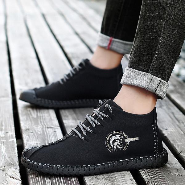 Winter Boots Men Fashion Lace Up Leather Casual Shoes Plus Velvet Ankle Fur  Warm Plush Non Slip Wear Resistant Simple HH 124 Buy Shoes Online Suede