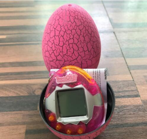 Pink Egg+Pink Transparent Machine