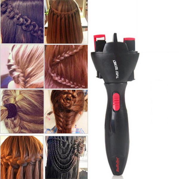 Yfashion Electric Hair Braider Automatic Braider Knitting Device Hair Machine Styling Tool