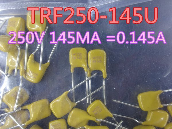 top popular 200pcs lot New Fuse TRF250-145U 250V 145MA = 0.145A In Stock Free Shipping 2021