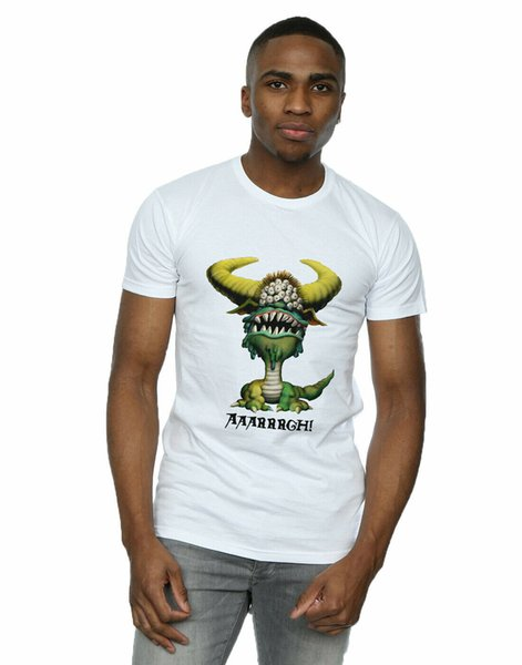 AAARGH T-Shirt Monty Python Erkek Canavarı