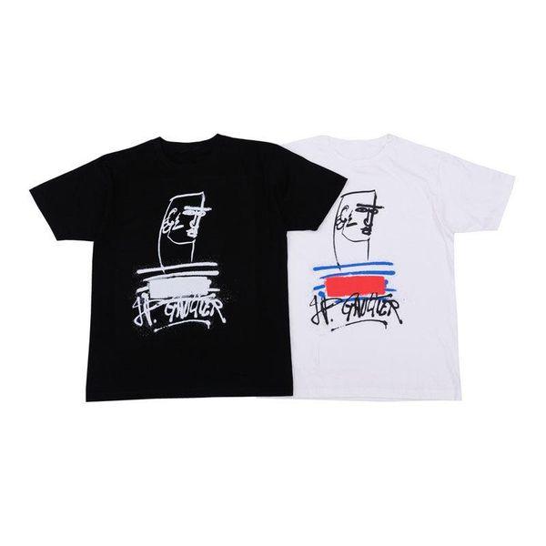 Box Logo Mens T Shirts Mens Designer T Shirts Fashion Men Women Shirts Tees Black White Size M-XXL