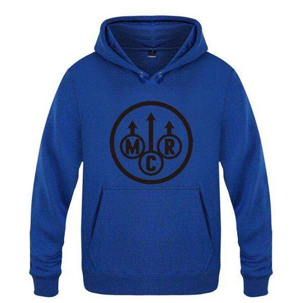 blauer Hoodie 13