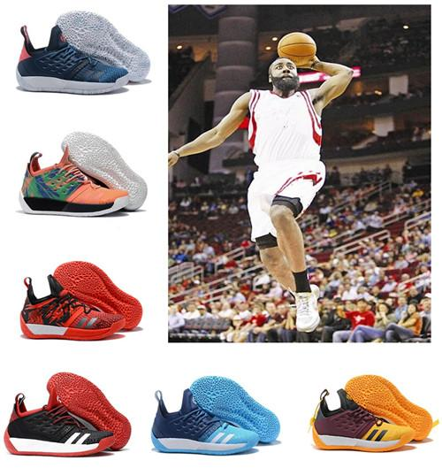 top popular designer shoes Harden Vol.2 Mens MVP Training Sneakers men Sports shoes Outdoor sports leisure shoes Size 40-46 2019
