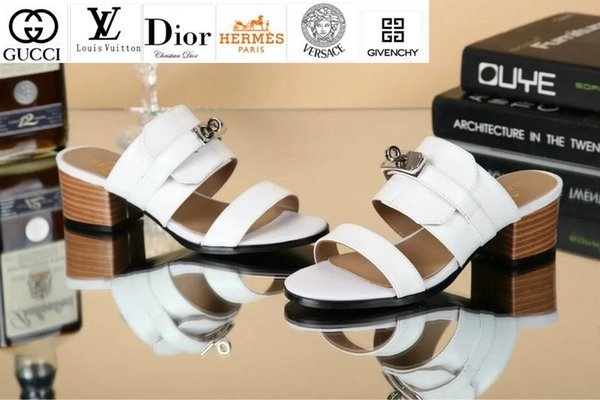 Vvtisks6 Classic Sheepskin Sandals And Slippers 8013 White Women Slippers Drivers Sandals Slides Sneakers Leather Slipper Real Leather Shoes