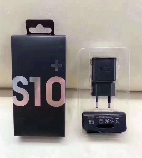 2 in 1 hızlı şarj kitleri 5 V 2A Hızlı şarj duvar şarj + en iyi 1.2 m S10 C Tipi Kablo EP-TA200 perakende paketi ile samsung S8 S9 s10 için