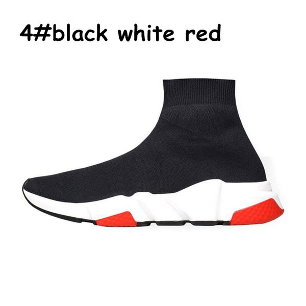 A4 black white red