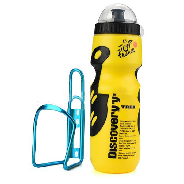 Bike Water Bottle Cage Outdoor Water Bottle and Holder Cage for Hiking Camping
