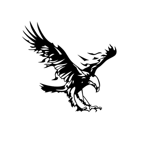 Personality Animal Flying Eagle For Auto Car/Bumper/Window Vinyl Decal Sticker Decals DIY Decor CT1095