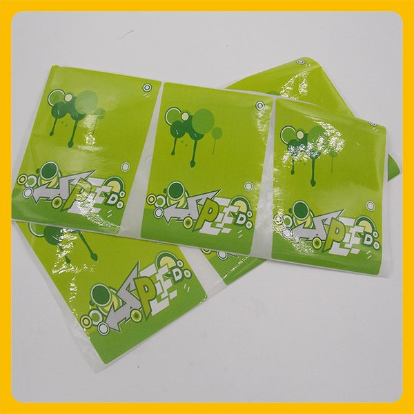 Customized color toy package sticker cosmetic bottle sticker label food paper glossy coated self adhesive sticker
