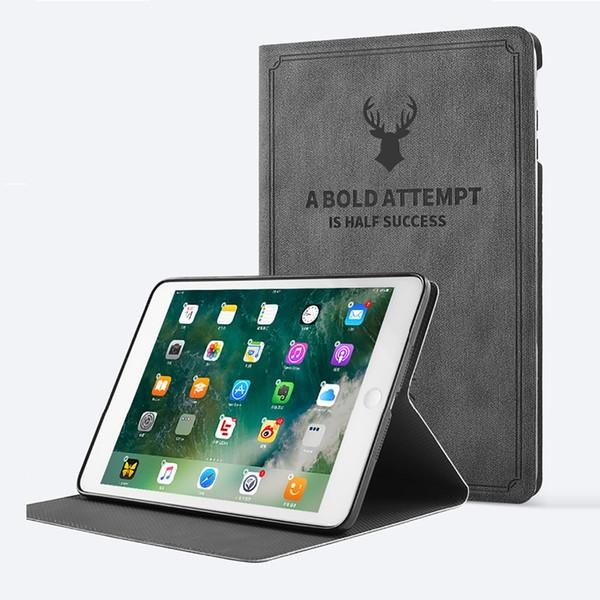 Custodia ufficiale originale in pelle 1: 1 per iPad Pro 9.7 2018 iPad Air 2 4 Custodia ultra sottile con custodia posteriore per nuovo iPad Mini 5 432