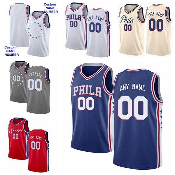 promo code b3ac6 cb456 2019 Printed Men Youth Women Philadelphia Basketball 76ers 33 Tobias Harris  Jersey 51 Boban Marjanovic 1 Mike Scott 12 TJ McConnell Blue White From ...