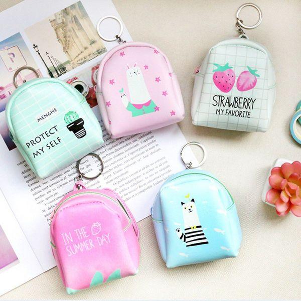 Cartoon Unicorn Coin Purses Women Wallets Small Cute Kawaii Card Holder Good Mini Gift Bags For Girls Ladies Purse Kids Children