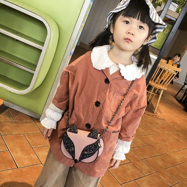 Ladybabag Marca Niños Simple Retro Un hombro Casual Temperamento Salvaje Messenger Bag Dropshipping bolsas feminina