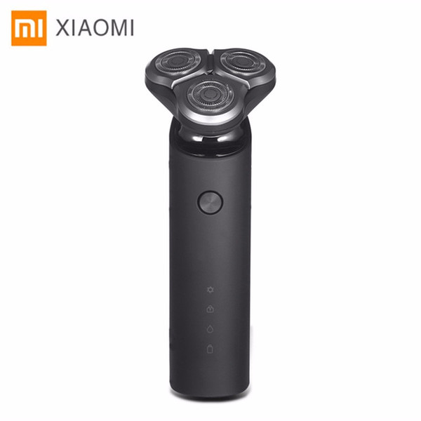 Xiaomi Mijia Electric Shaver Razor For Men Head 3 Dry Wet Shaving Washable Main-Sub Dual Blade Turbo+ Mode Comfy Clean