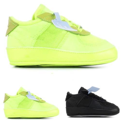 Compre Nike Air Force One Af1 Td Infant Volt Kids Zapatillas Para Correr CB Hyper Jade Cone Negro Zapatillas Deportivas Para Niños Pequeños