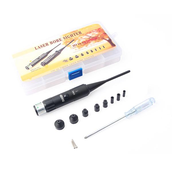Grüner Laser Sore Laser Pointer 0,177 bis 0,50 Kaliber Zielpositionierung Schussprüfer-Kit