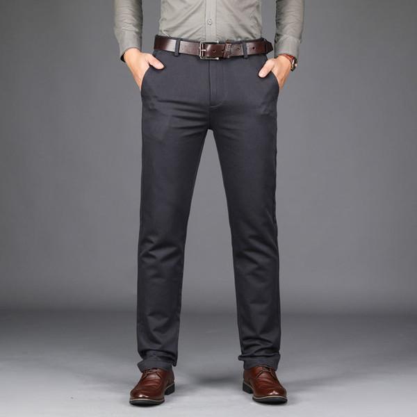 Pantalones De Vestir A La Moda Para Hombres
