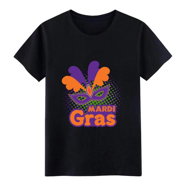 Бейсбольная футболка Mardi Gras Трикотажная хлопчатобумажная одежда S-3xl Crazy Funny Весна Осень Письмо рубашка