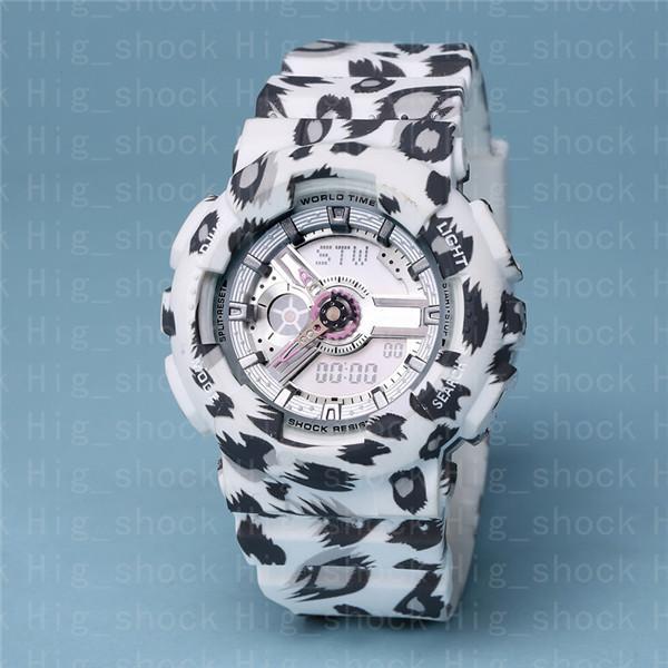 #7 Leopard print white