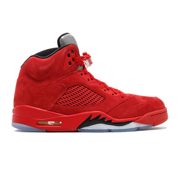A19 Red Suede