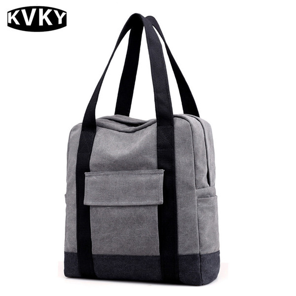 Pattern Canvas Bag 2017 Autumn And Winter Dual Purpose Backpack Will Capacity Fashion Joker Men And Women Portable Both Shoulders Package