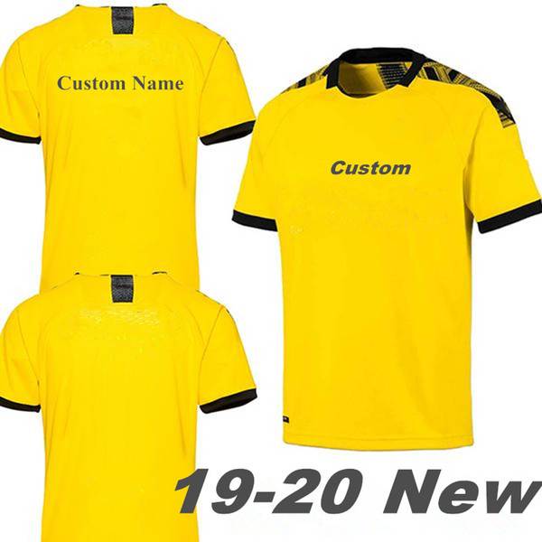 19 20 Dortmund Soccer Jersey REUS SANCHO Football Shirt KAGAWA WITSEL GOTZE ACHRAF Camiseta de foot 2019 2020 SANCHO maillot de foot